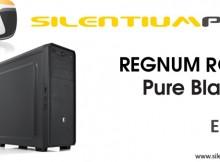 carcasa regnum rg1 pure black